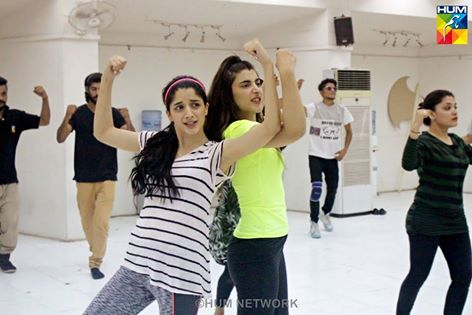 Pakistani Celebrities during rehearsals of 4th HUM Awards 2016 (11)