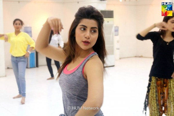 Pakistani Celebrities during rehearsals of 4th HUM Awards 2016 (3)