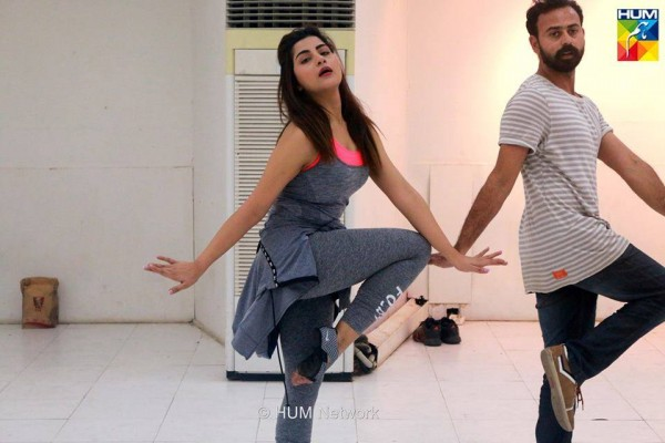 Pakistani Celebrities during rehearsals of 4th HUM Awards 2016 (4)