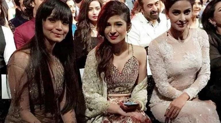 Pakistani actresses at ARY Film Awards 2016