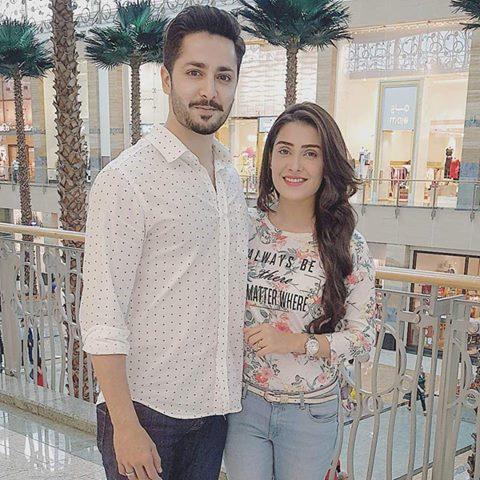 Recent Clicks of Ayeza Khan and Danish Taimoor (2)