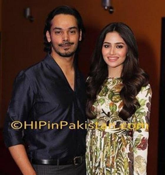 Sana Javed and Gohar Rashed