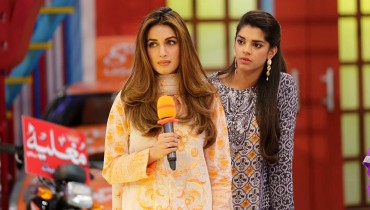 See Sanam Saeed and Iman Ali in Jeeto Pakistan