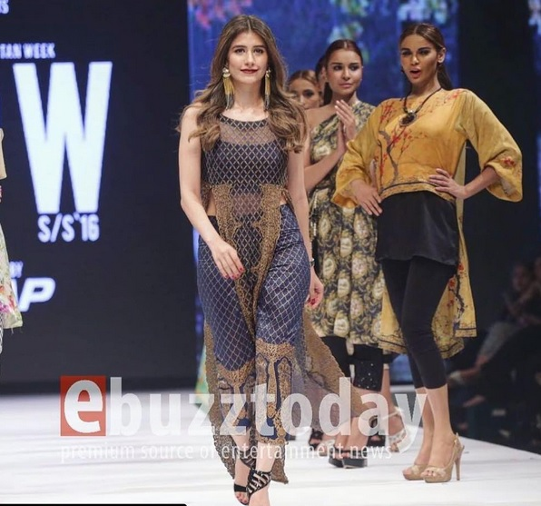 Syra Shahroz looked gorgeous at FPW16 Day 3 (2)