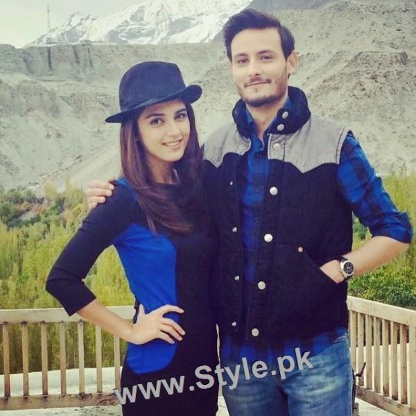 Top 10 Pictures of on screen couple Maya Ali and Osman Khalid Butt (6)