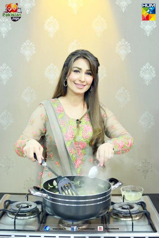 reema khan in morning show