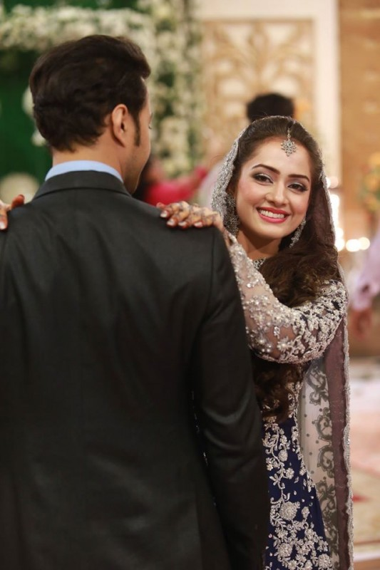 Ahmed Hassan and Nousheen Ibrahim' Reception pictures (16)