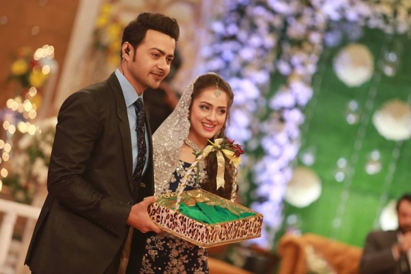 Ahmed Hassan and Nousheen Ibrahim' Reception pictures (8)