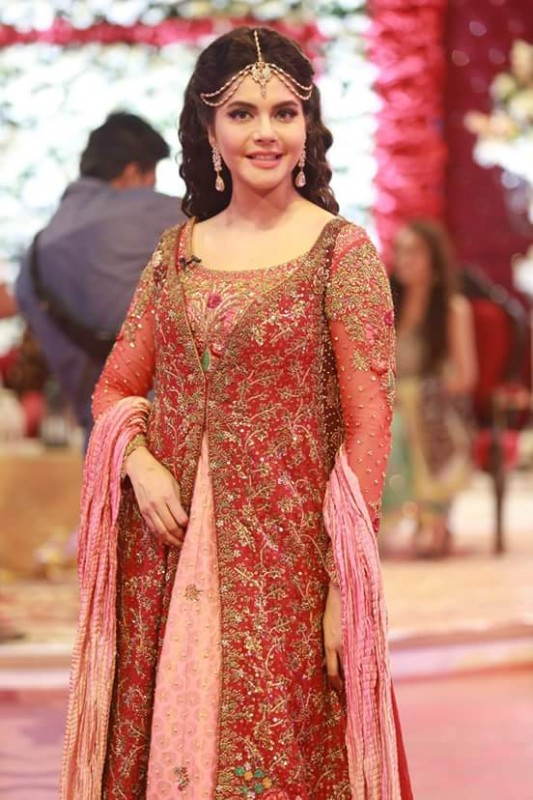 Ahmed Hassan and Nousheen Ibrahim's Grand Wedding in Good Morning Pakistan (10)