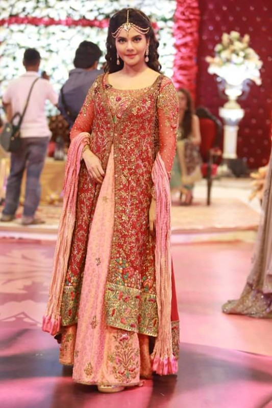 Ahmed Hassan and Nousheen Ibrahim's Grand Wedding in Good Morning Pakistan (11)