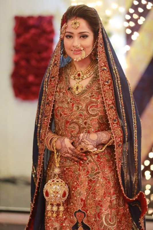 Ahmed Hassan and Nousheen Ibrahim's Grand Wedding in Good Morning Pakistan (4)