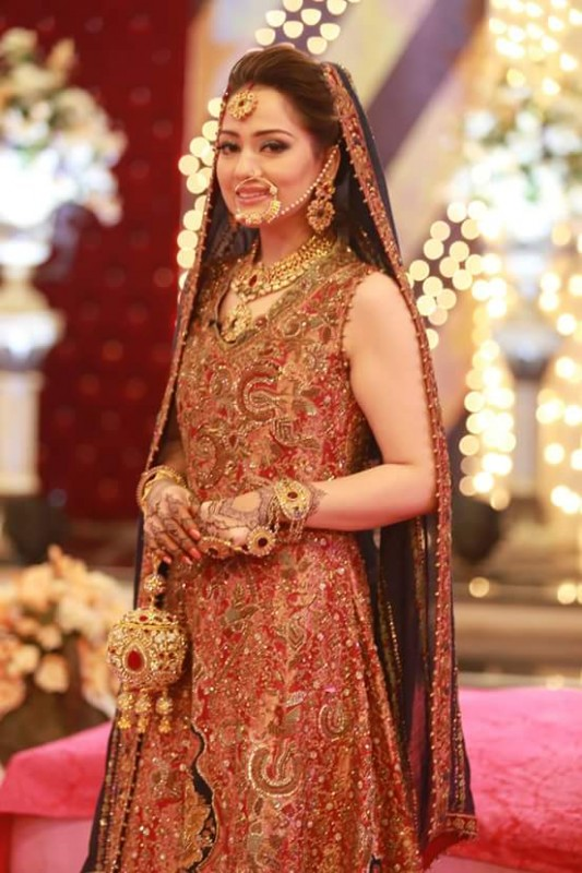 Ahmed Hassan and Nousheen Ibrahim's Grand Wedding in Good Morning Pakistan (7)