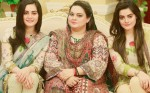 Aiman and Minal Khan with Their Mother in Morning Show Satrungi