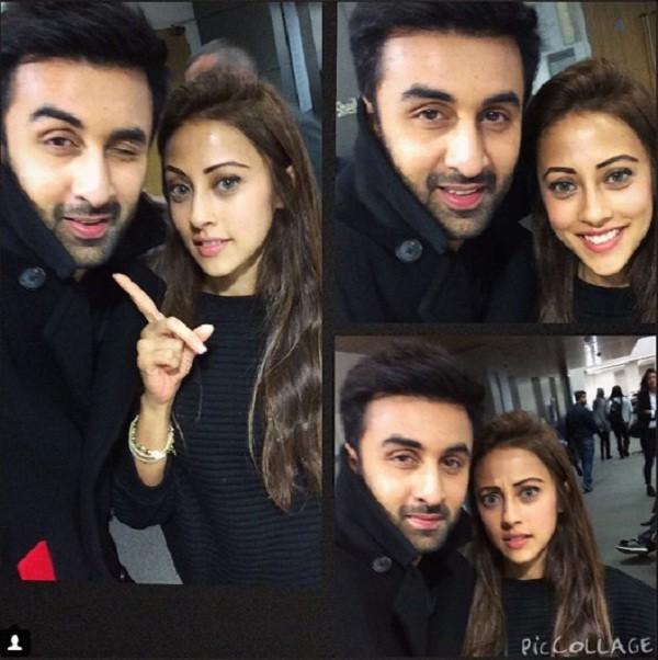 Ainy Jafferi with Ranbir Kapoor