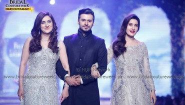 Ayesha Sana Saim Shaista Lodhi at Bridal Couture Week