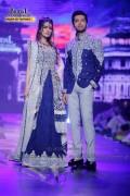 Fahad Mustafa and Iman Ali at Bridal Couture Week