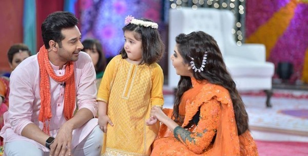 Fasial Qureshi with her daughter Ayat
