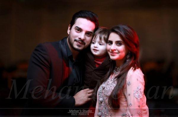 Fatima Effendi and Kanwar Arslan With Their Son