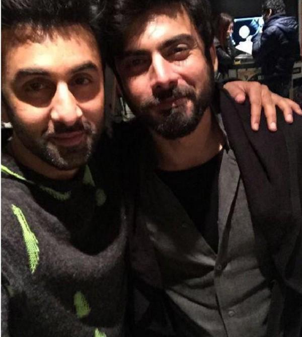 Fawad Khan and Ranbir Kapoor