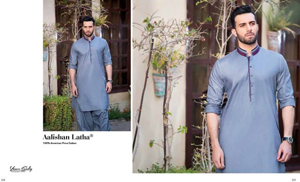 Gul Ahmed Summer Dresses 2016 For Men009