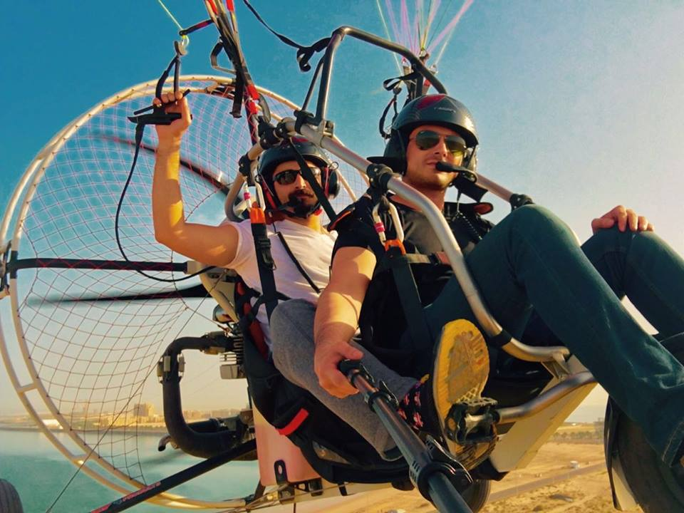 See Hamza Ali Abbasi is a pilot now