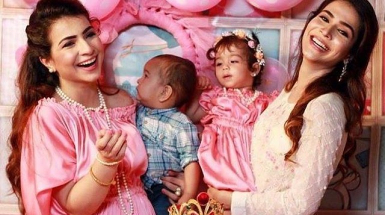 See Humaima Malick arranged a birthday party for her niece Ziyara Malik
