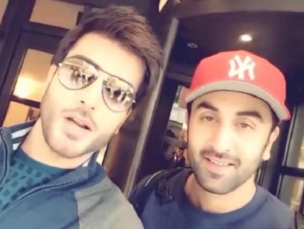 Imran Abbas and Ranbir Kapoor