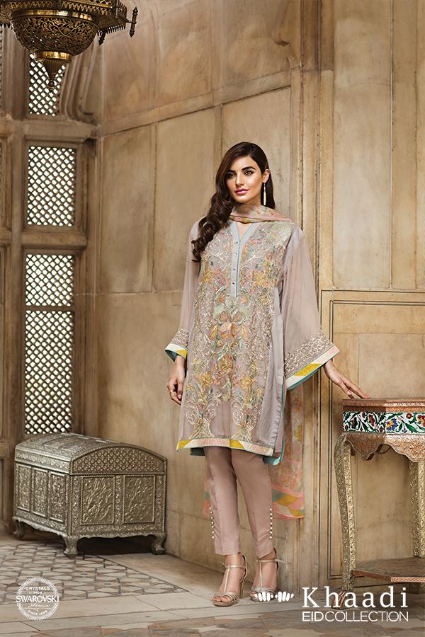 6451272fc Khaadi Eid Dresses 2016 For Women - Style.Pk