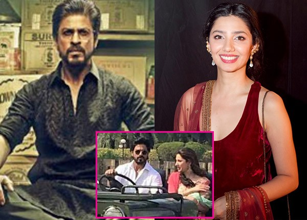 Mahira Khan and Shah Rukh Khan movie