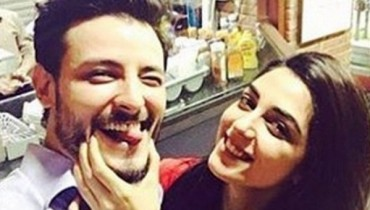 Maya Ali and Osman Khalid Butt photo