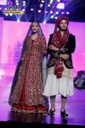 Naveen Waqar and Ahsan Khan at Bridal Couture Week