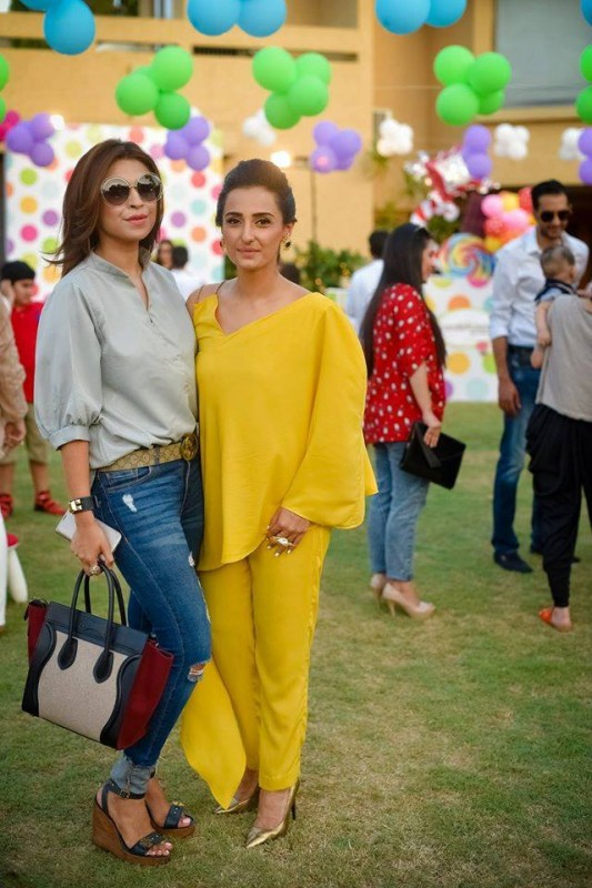 Pictures from birthday party of Momal Sheikh's son (12)