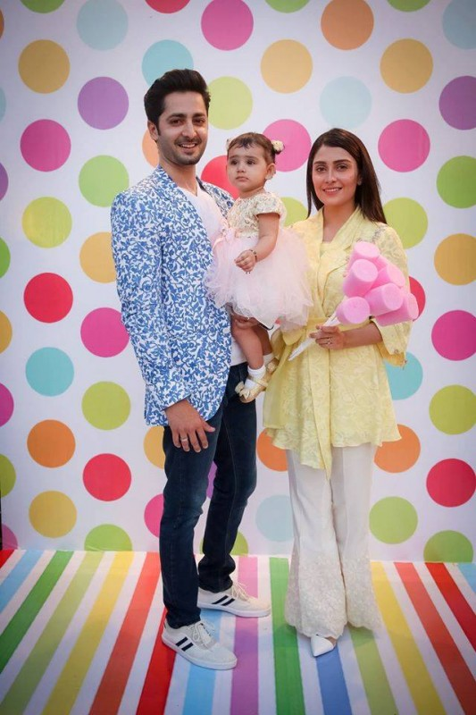 Pictures from birthday party of Momal Sheikh's son (14)