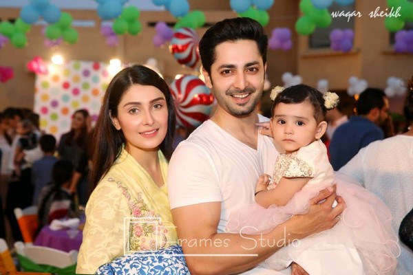 Pictures from birthday party of Momal Sheikh's son (2)