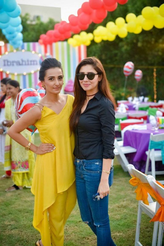 Pictures from birthday party of Momal Sheikh's son (3)