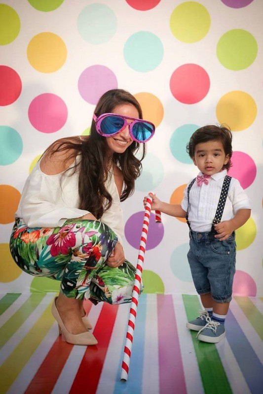 Pictures from birthday party of Momal Sheikh's son (6)