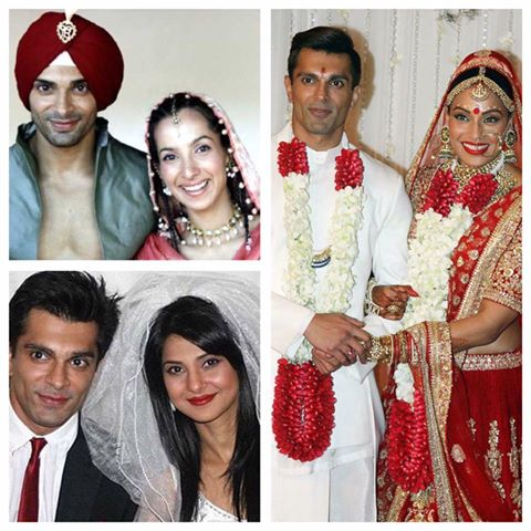 Image result for karan singh grover wives
