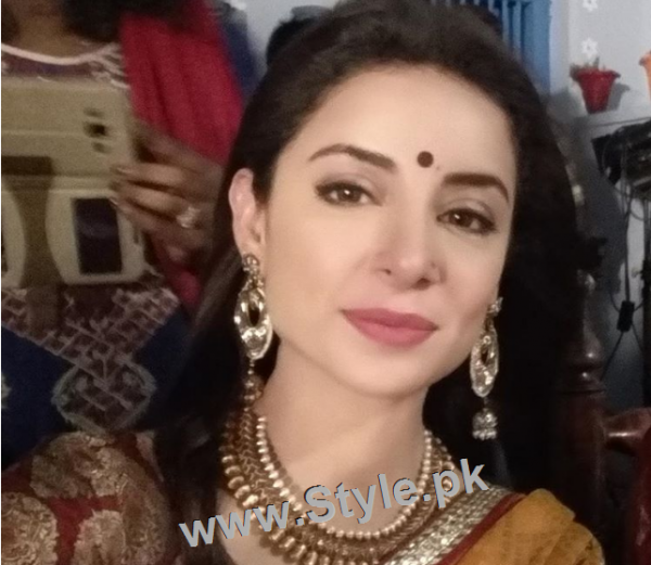Recent Pictures of Sarwat Gillani as Hindu girl (3)