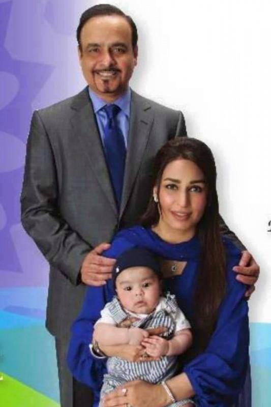 Reema Khan husband and son
