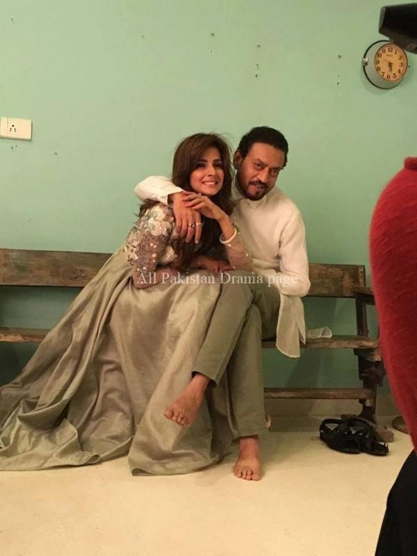 Saba Qamar and Irrfan Khan