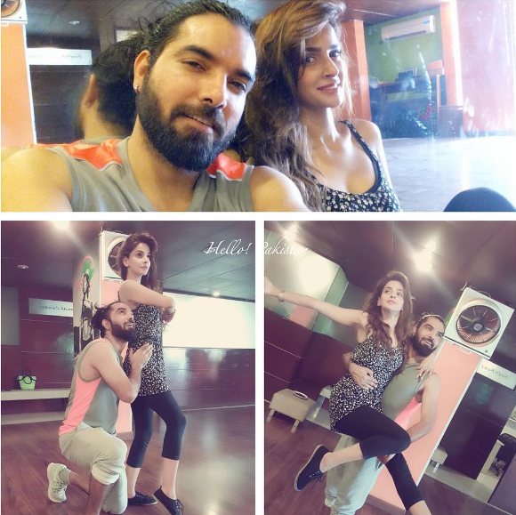 Saba Qamar Yasir Hussain together