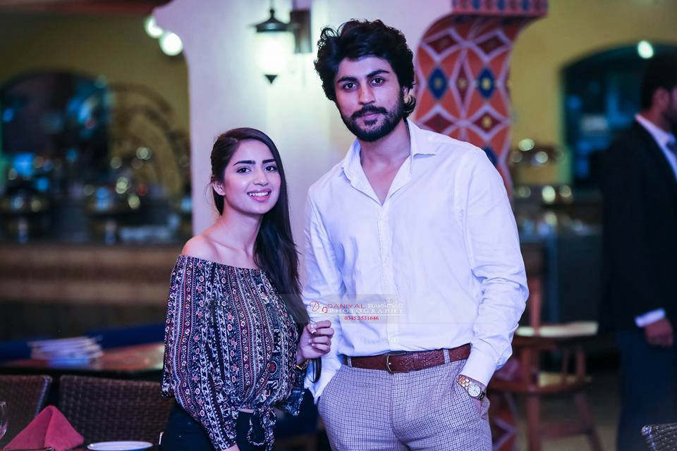 Lovely Photos Of Saboor Ali With Her Fiance