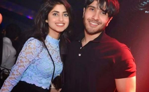 Sajal ali and Feroz Khan