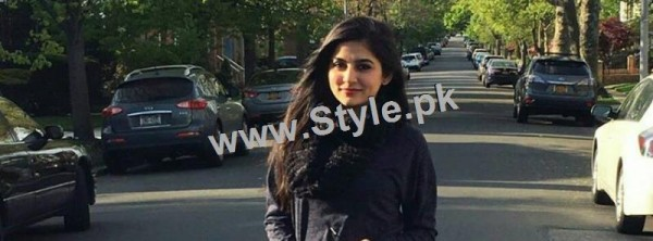 Sanam Baloch is enjoying her vacations in USA (2)