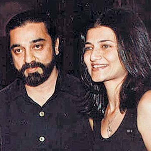 Sarika and Kamal Hasan