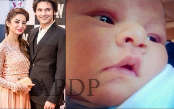 Sarwat Gillani and Fahad Mirza baby boy