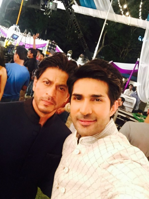 Shah Rukh Khan and Adeel Chaudhry