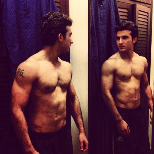 Shahroz Sabzwari Shirtless