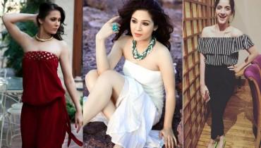 pakistani actresses strapless