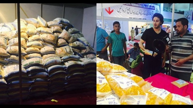 See Ahsan Khan arranged Bazar e Ramzan for Needy People